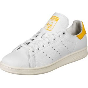 Adidas Stan Smith W, Chaussures de Gymnastique Femme, Blanc FTWR Active Gold/Off White, 38 2/3 EU