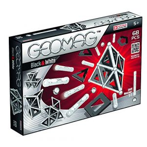 Geomag Coffret Back and White 68 pièces