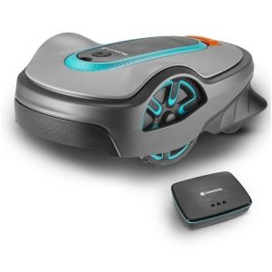 Gardena Kit tondeuse robot smart SILENO life 1 000