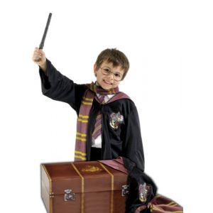 Rubie's From Dressingupshop Harry Potter Dressing Up Trunk - Glasses, Wand, Robe, Scarf