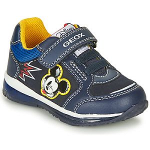 Geox Baskets basses enfant TODO MICKEY Bleu - Taille 20,22,23,24,25