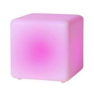 Lucide 13805/40/61 - Cube lumineux d'extérieur Led Dice 40 cm