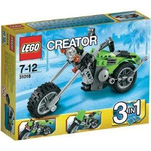 Lego 31018 - Creator 3 en 1 : Le chopper
