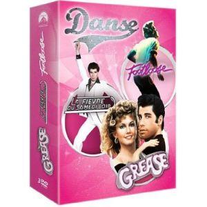 Coffret Danse - Grease + Footloose + La Fièvre du samedi soir