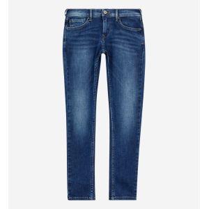 Pepe Jeans FINLY Jeans Garçon Bleu (Medium Used Denim Gk5) (Taille fabricant:16)