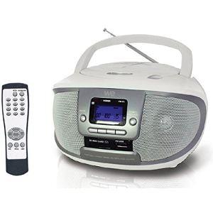 WE R-107B - Radio MP3/CD avec télécommande