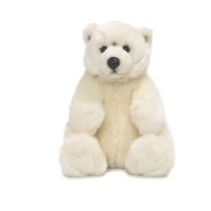 WWF Peluche Ours polaire assis 22 cm