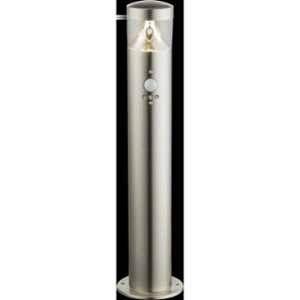 Globo Lighting Borne extérieure inox - Plastique translucide - IP44 - Capteur : Hauteur jusqu'a 2m - 100° Borne extérieure inox - Plastique translucide - IP44 - Capteur : Hauteur jusqu'à 2m - 100°