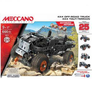 Meccano 6028599 - Pick-Up motorisé 25 modèles