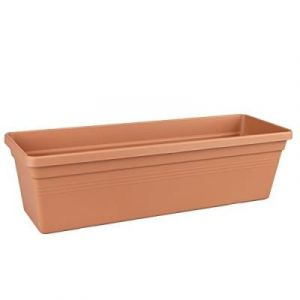Elho 2055478 Green Basics Balconnière Marron/Rouge 60 X 15 X 16 Cm