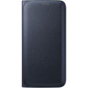 Samsung EF-WG925P - Étui Flip Wallet pour Galaxy S6 Edge