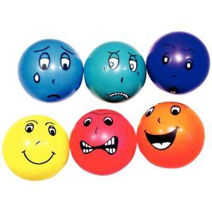 Vinco Educational Balles 'Emotions' - Lot de 6