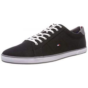 Tommy Hilfiger H2285arlow 1d, Sneaker Basses Homme, Noir (Nero), 42 EU