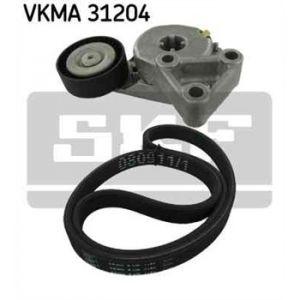 SKF Kit de courroies d'accessoires VKMA31204