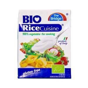 The Bridge Rice Cuisine - Crème de riz alternative bio à la crème fraiche - Brique 20cl