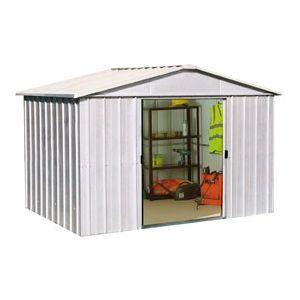 Yardmaster Abri de jardin en metal 4,51 m²