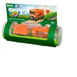 Brio World - 33891 - Train Cargo et Tunnel