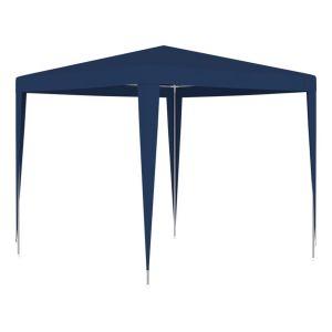 VidaXL Tente de réception 2,5x2,5 m Bleu
