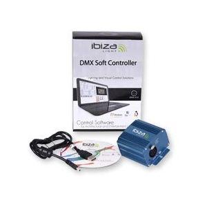 Ibiza Light DMX soft controler - Pack interface + logiciel effet de lumière LS512DMX