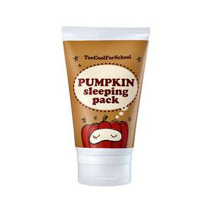 too cool for school Pumpkin Sleeping Pack - Masque de nuit visage