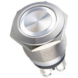 Heidemann Bouton de sonnette 1 prise 70528 acier inoxydable 24 V/0,5 A