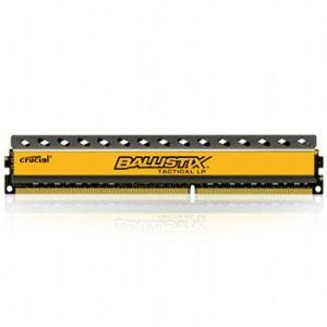 Crucial BLT4G3D1608ET3LX0CEU - Barrette mémoire Ballistix Tactical 4 Go DDR3 1600 MHz Dimm 240 broches