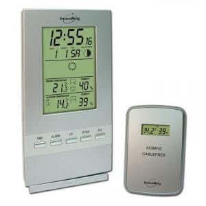 Inovalley SM300 - Station météo et hygromètre pour température intérieure et extérieure