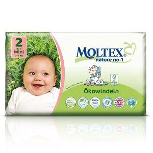 Moltex Couches taille 2 Eco-Mini (3-6 kg) - paquet de 42
