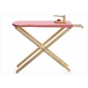 Egmont Toys Table à repasser avec fer en bois