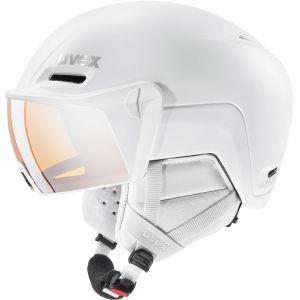 Uvex Hlmt 700 Visor Casque, white mat 55-59cm Casques ski & snowboard