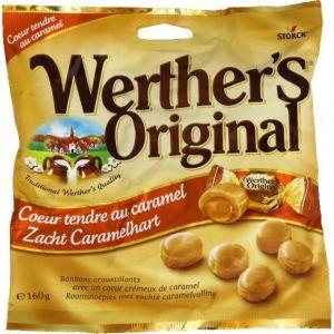 Werther's Original Bonbons au coeur tendre au caramel - Le sachet de 160g
