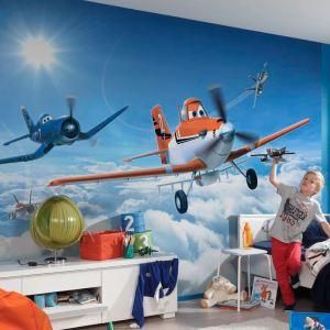 Papier peint Disney Planes : Au dessus des nuages ( 254 x 368 cm)