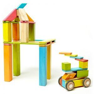 Tegu Set de 42 pièces magnétiques en bois de 3 ans à 8 ans