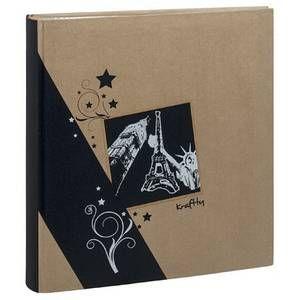 Erica Album kraftty à pochettes pour 500 photos 11.5x15 - Noir