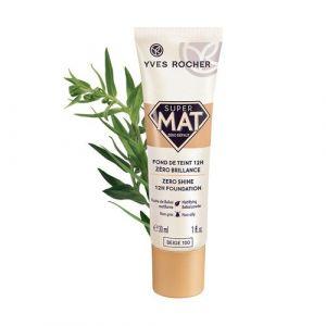 Yves Rocher Super Mat zéro défaut beige 100 - Fond de teint 12h