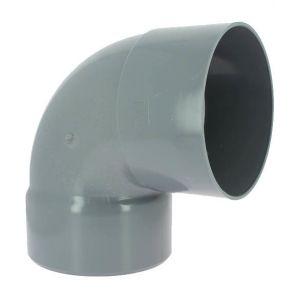 Adequa Coude PVC femelle-femelle 87°30 O200