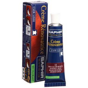 Saphir Crème rénovatrice 25 mL - rouge hêtre - Rénovation cuir, Teinture