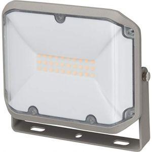 Brennenstuhl Projecteur ALCINDA LED 30W (3050 lm, pour montage mural, lampe LED SMD OSRAM très claire, Utilisation en intérieur et en extérieur IP44), Gris