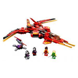 Lego NINJAGO Le superjet de Kai - 71704, Jouets de construction