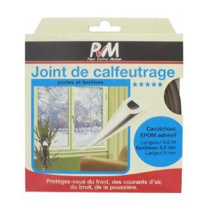 PVM Profil P 10 m - Joint en caoutchouc 9 mm