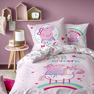 Chaulnes Textiles - Parure De Lit - Peppa Pig Licorne