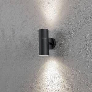Konstsmide Applique extérieure NEW MODENA noire à 2 lampes