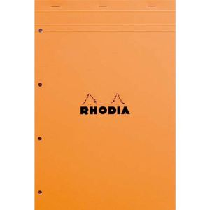 Rhodia 5 Bloc-notes Agrafés Séyès 80 feuilles (210x318 mm)