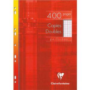 Oxford 100 Copies doubles grand carreaux perforée (A4)