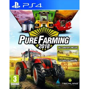 Pure Farming 2018 sur PS4