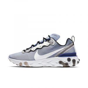 Nike Chaussure React Element 55 Homme - Bleu - Couleur Bleu - Taille 42.5