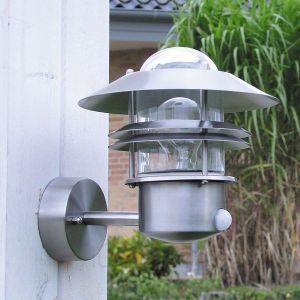 Nordlux 25031034 - Applique d'extérieur Blokhus avec détecteur de mouvement