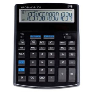 HP F2221AA - Calculatrice OfficeCalc200 de bureau solaire
