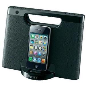 Sony RDP-M7iP - Station avec haut-parleurs compacte pour iPod / iPhone