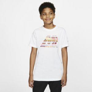 Nike Tee-shirt de football Dri-FIT Mercurial pour Enfant plus âgé - Blanc - Taille M